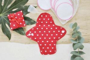 stoffbinde menstruationstasse zero waste periode