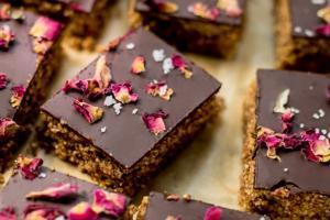 Rezept für den Zyklus: Amarantschnitten mit Schokolade