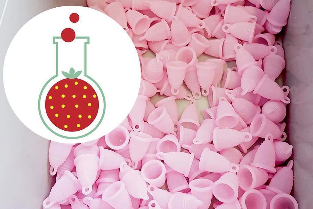 viele menstruationstassen produktion