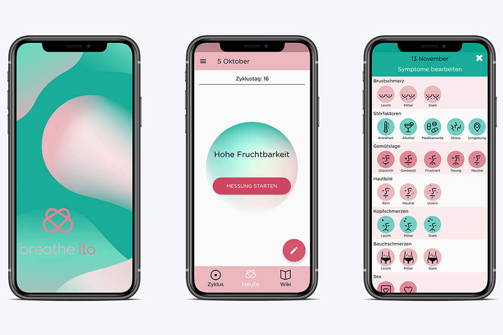 Screenshots App breathe ilo