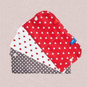 wasserdichte tasche für stoffbinden und stoffmasken