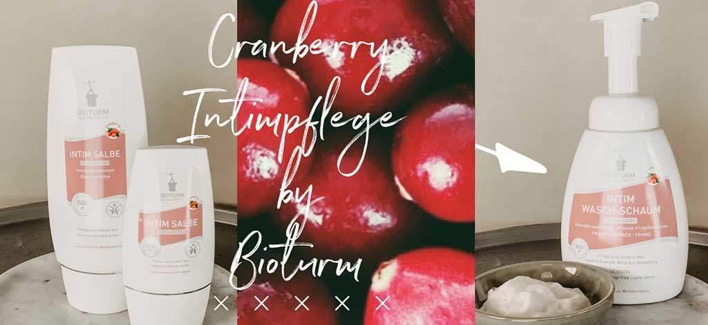 bioturm intimpflege mit bio cranberry