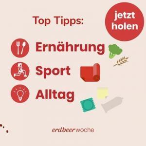 Top Tipps für Ernährung Sport Alltag
