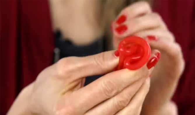 menstruationstasse-falten
